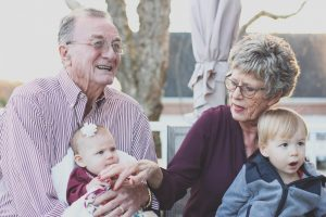 grandparents with babies/Types of Family
