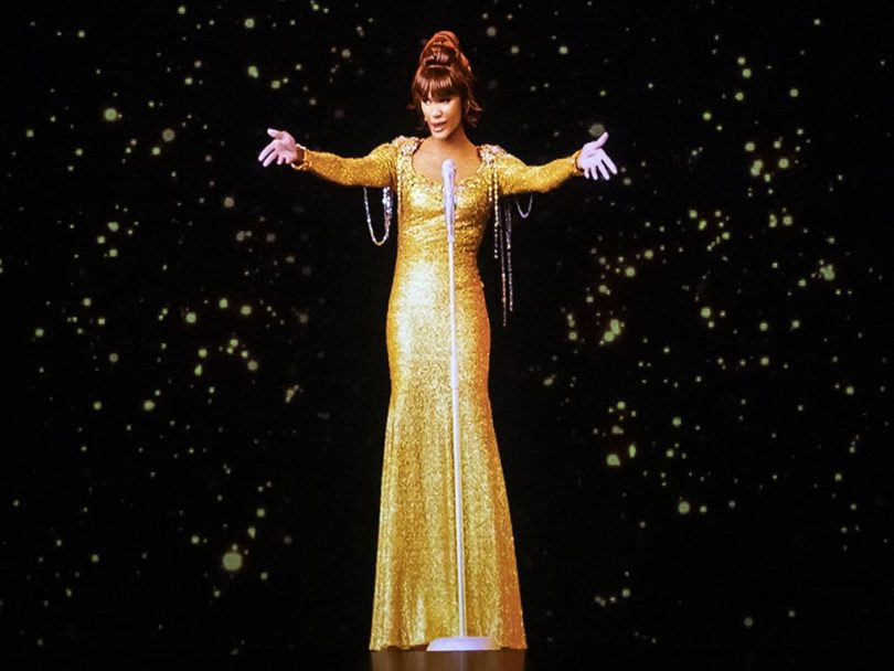 the Whitney Houston hologram