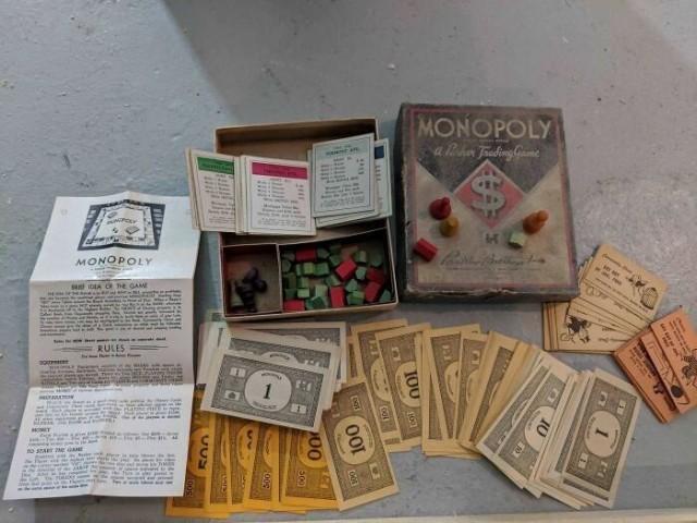 1925 Monopoly