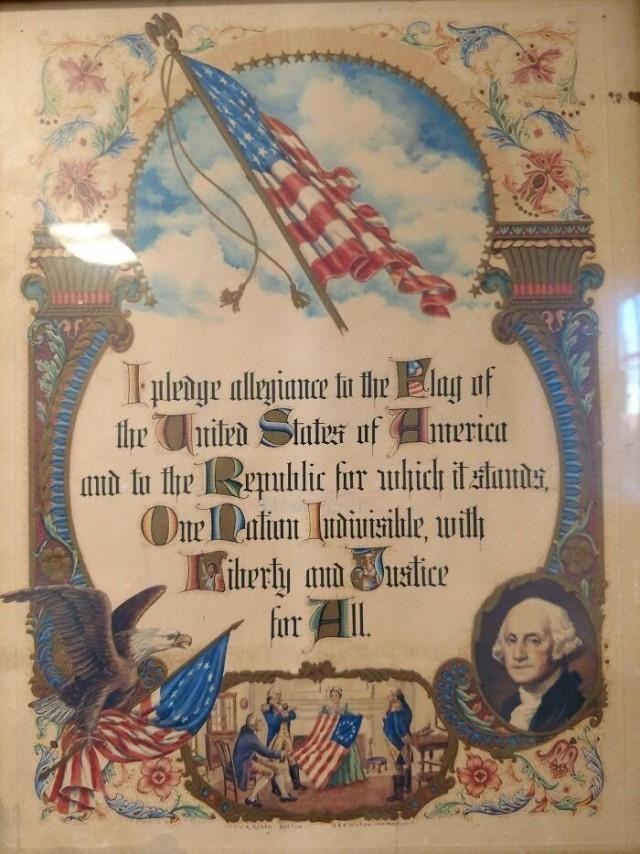 Oath of allegence