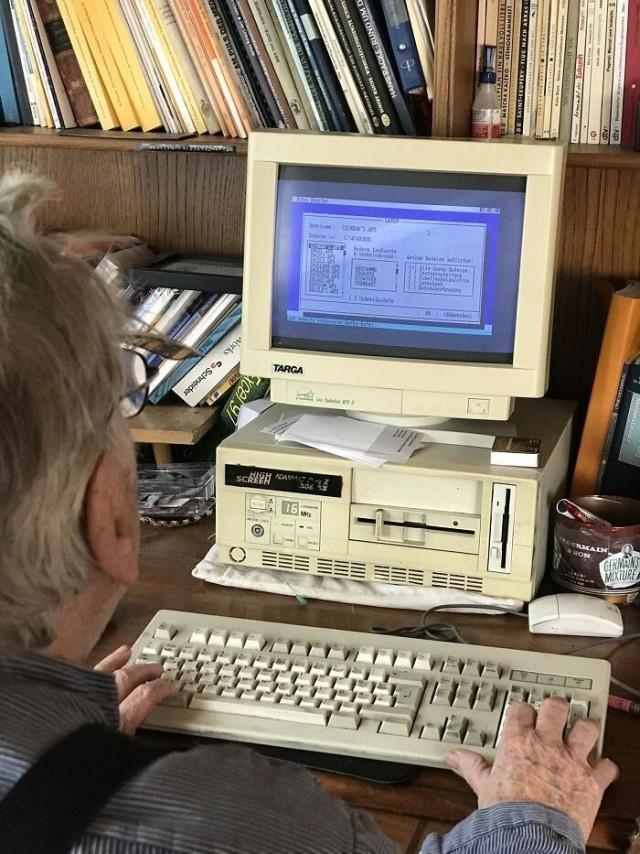 DOS-based computer