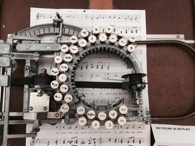 vintage 1950s typewriter