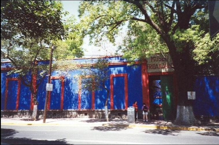 Frida Kahlo's Museum Mexico City