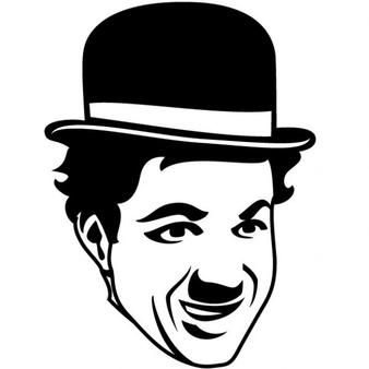 Chaplin' s drawing